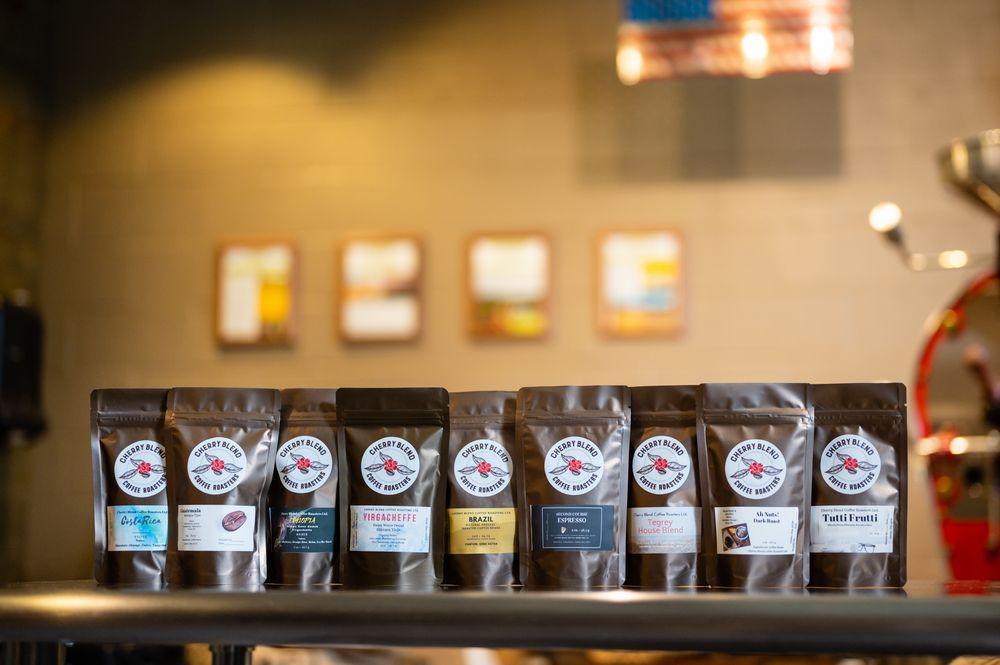 Cherry Blend Coffee Roasters: 1003 Cherry Ave NE, Canton, OH