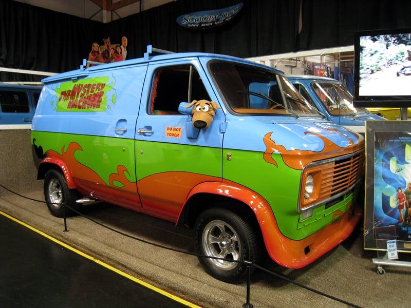 Garys Auto Service >> Mystery Machine van from Scooby Doo | Yelp