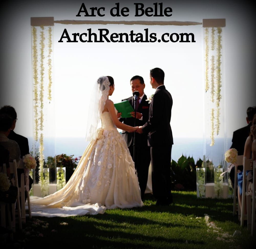 Wedding Altar Rentals: Miami Beach Ritz Carlton Acrylic