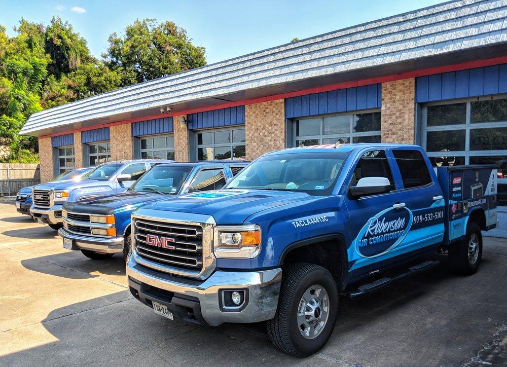Roberson Air Conditioning: 200 E Milam St, Wharton, TX
