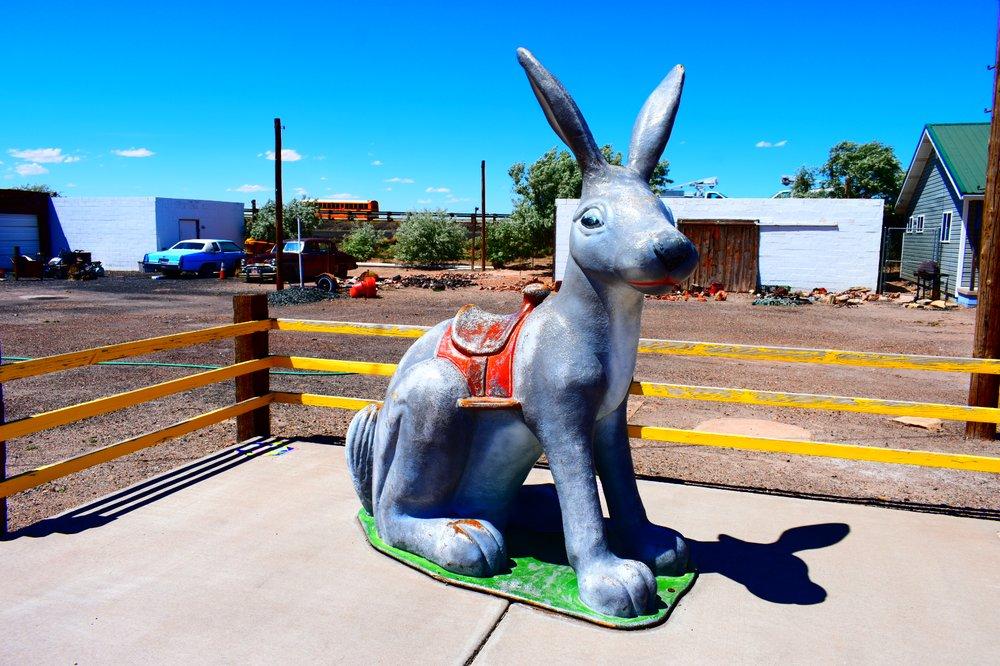 Jack Rabbit Trading Post: 3386 Rt 66, Winslow, AZ
