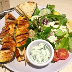 Zoes Kitchen Salmon Kabob zoes kitchen - 50 photos & 45 reviews - mediterranean - 3371
