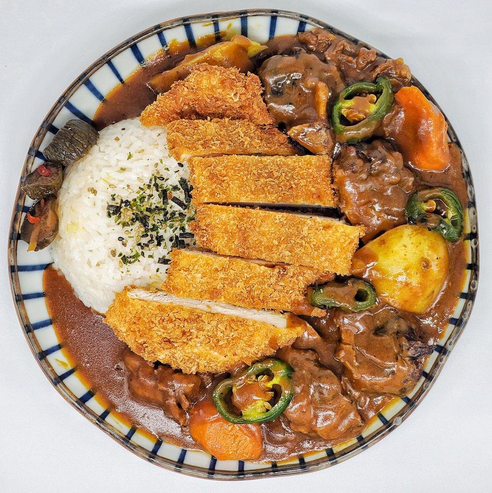 Food from Kiku Curry
