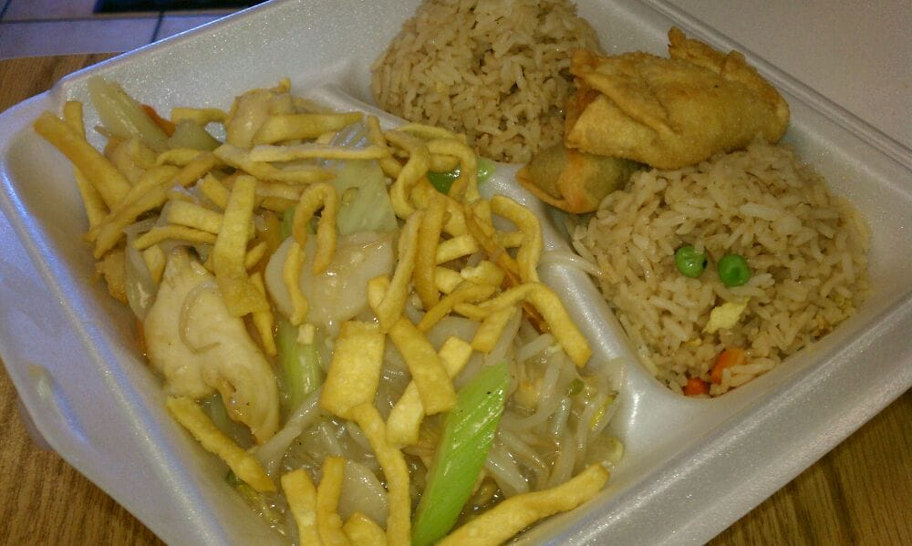 Chicken chow mein lunch Togo. 3.95... - Yelp