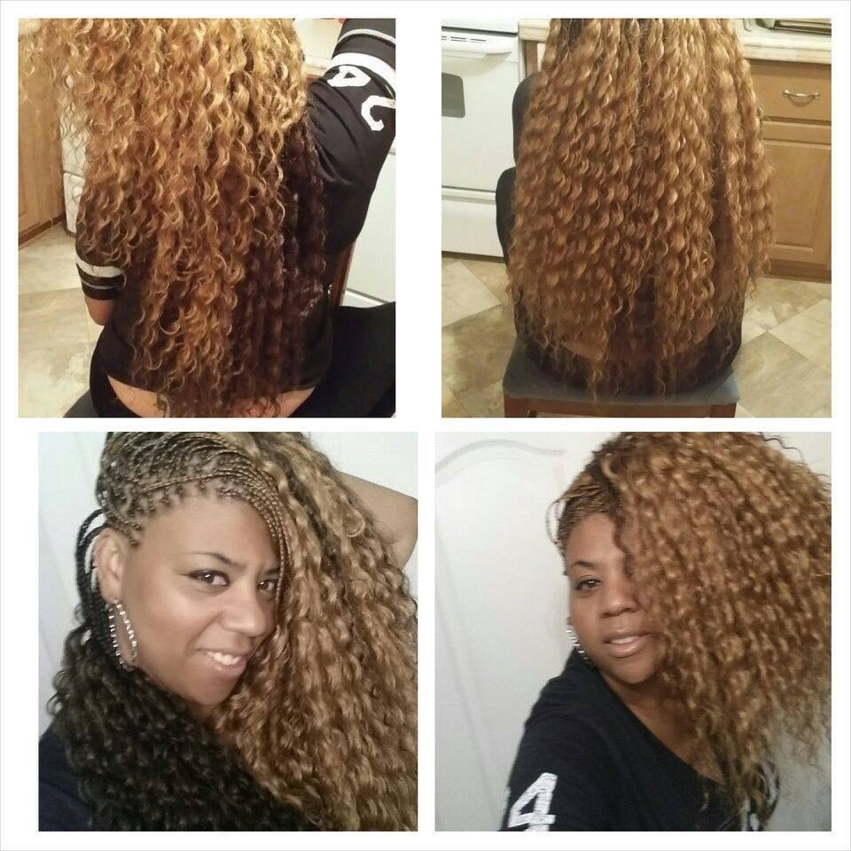 Long Box Braids Color 27 Mix With 30 613 Yelp
