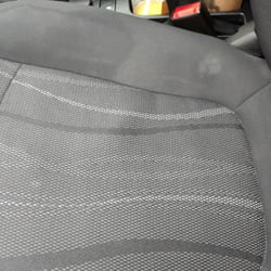 Photo Of Green Chevrolet   Peoria, IL, United States. Stains Left On Cloth