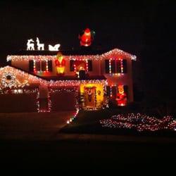 photo of christmas light hanging san diego orange ca united states - Christmas Decorations San Diego