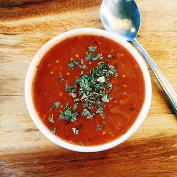 ... & Scones - Los Angeles, CA, United States. Vegan Tomato Soup