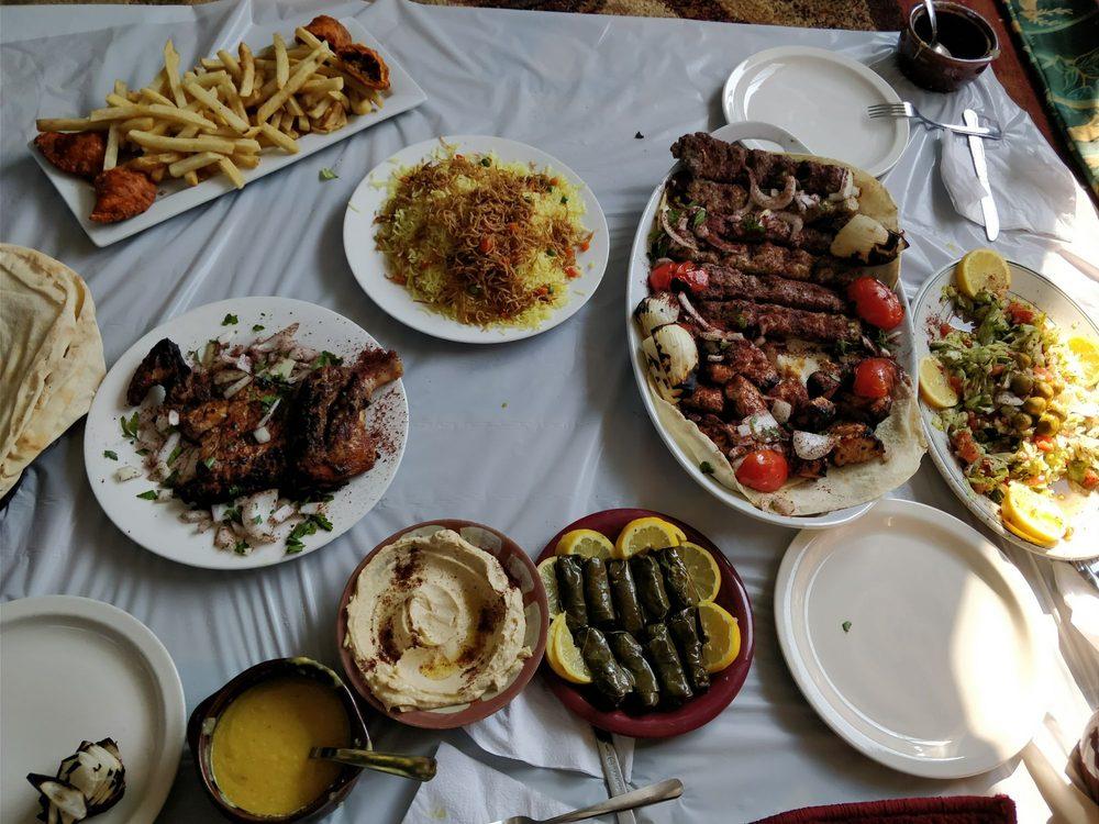 Food from Shish Kabob Restaurant