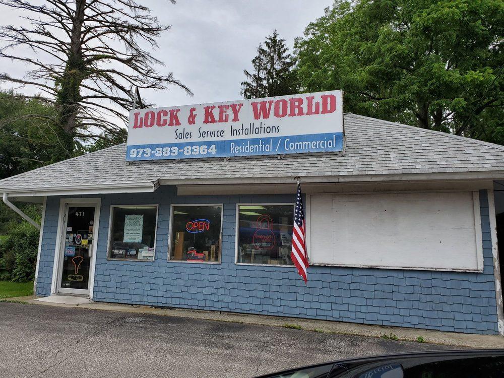 Lock & Key World: 471 US Hwy 206 S, Newton, NJ