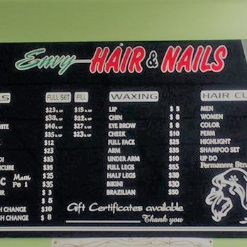 Envy hair and nails nail salons 9131 se powell blvd for A list salon portland