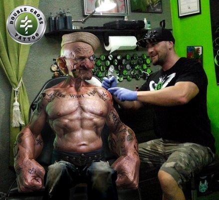 Double Cross Tattoo 3624 W Broward Blvd Fort Lauderdale, FL Tattoos ...