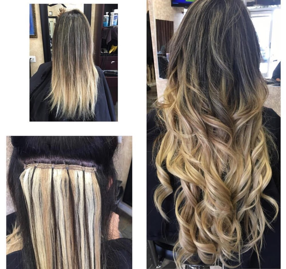 One step weft hair extensions yelp photo of hairbyjess woodland hills ca united states one step weft hair pmusecretfo Image collections