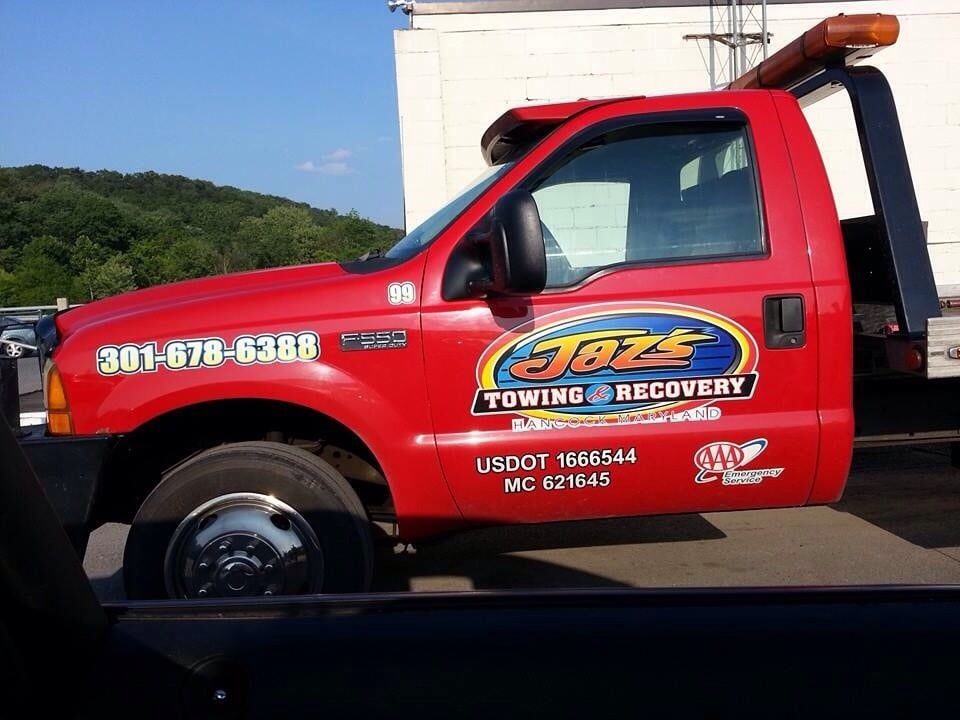 Jaz's Towing And Recovery: 14614 Hollow Rd, Hancock, MD