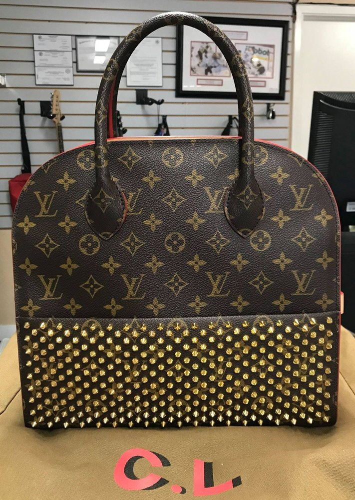 Louis Vuitton Christian Louboutin Limited Edition Shopping Tote Yelp
