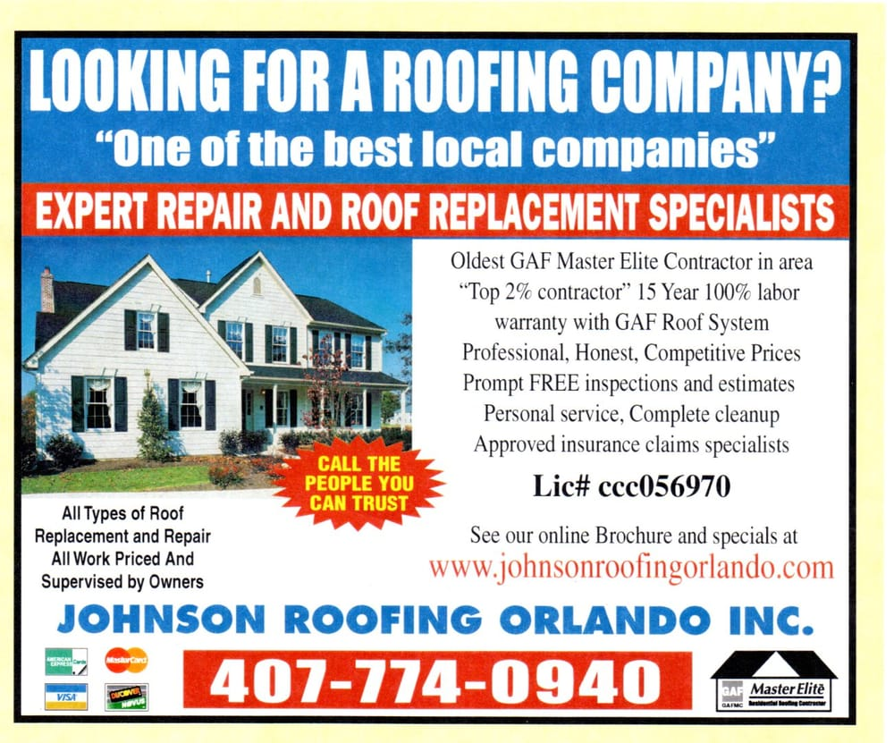 Johnson Roofing Orlando