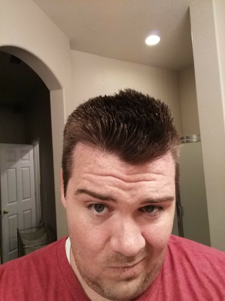 Uhhhh Worst Haircut Ever Completely Uneven One Side Is Tapered Other