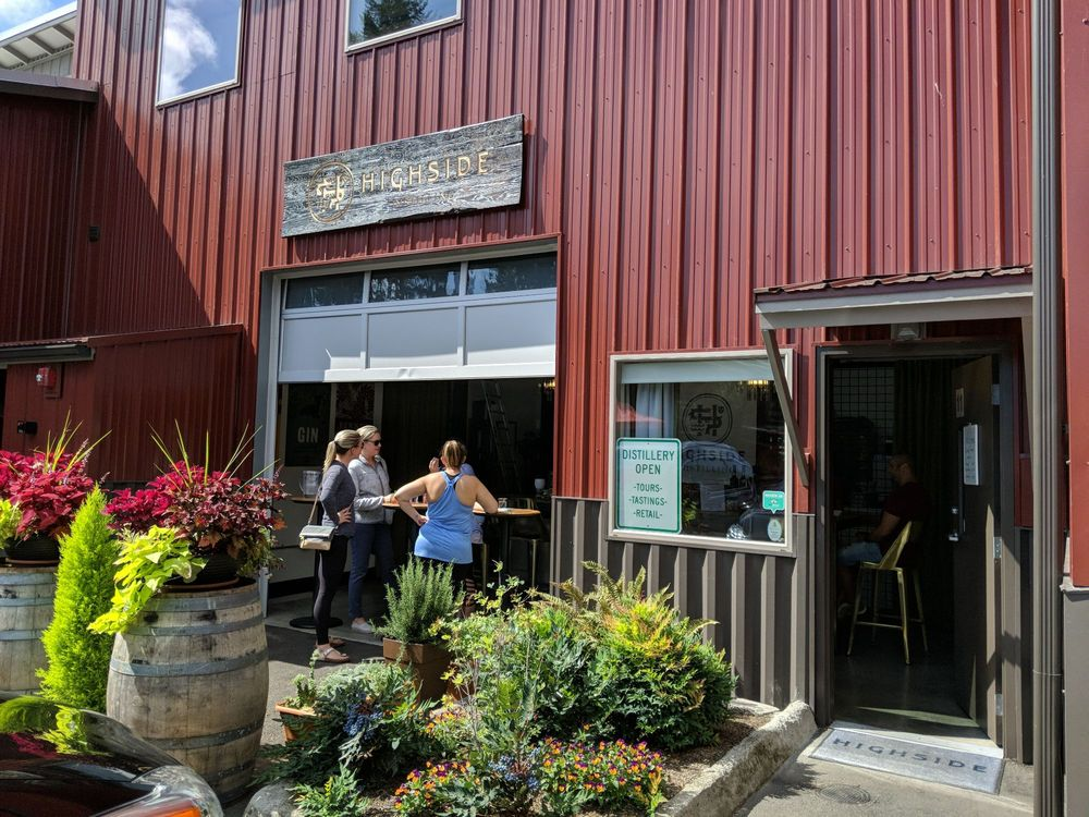 Highside Distilling: 8895 Three Tree Ln NE, Bainbridge Island, WA