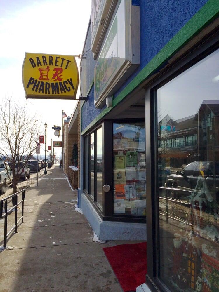 Barrett Pharmacy & Variety: 145 N Main St, Watford City, ND