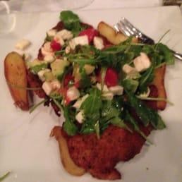 Giostra NY - Tappan, NY, United States. Breaded chicken w/ tomato, mozzarella and avocado