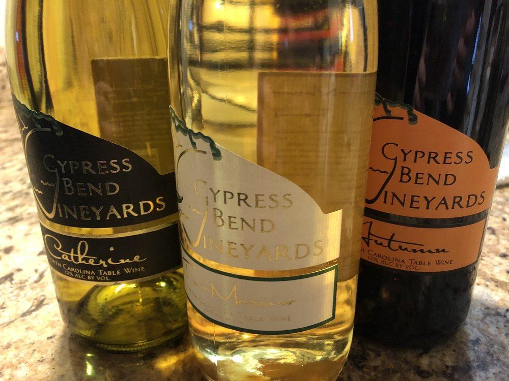 Cypress Bend Vineyards: 21904 Riverton Rd, Wagram, NC