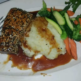 Broadway Bistro - Nyack, NY, United States. Sesame crusted tuna