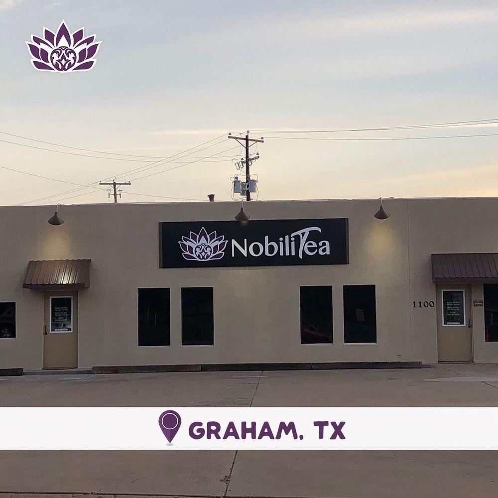 Nobili Tea: 1100 Cypress St, Graham, TX