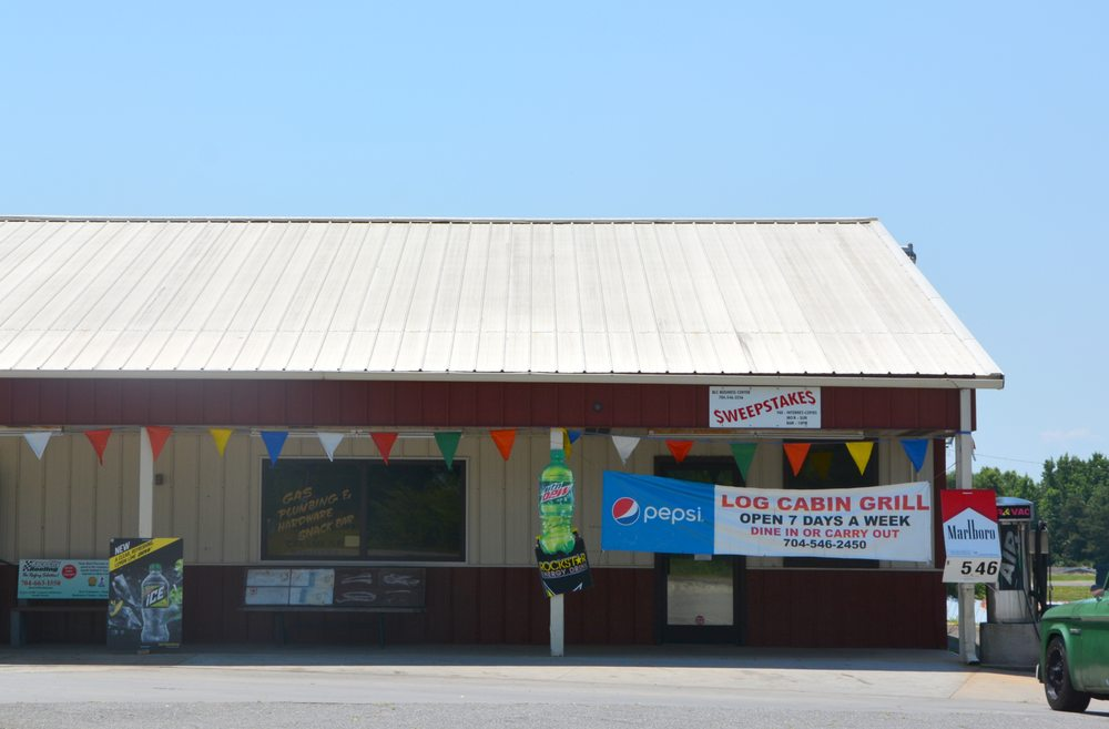 Barkers Log Cabin Grocery: 2894 Harmony Hwy, Harmony, NC
