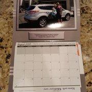 The custom calendar Airpark ...