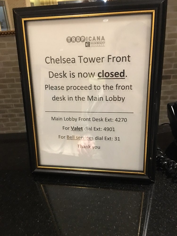 Chelsea Tower at Tropicana Atlantic City - Order Food Online