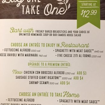 Olive Garden Italian Restaurant - Last Updated June 2017 - 84