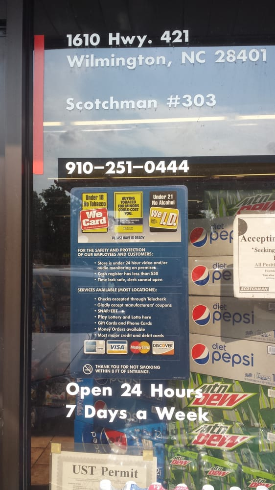 Gas Stations Near Me >> Scotchman 303 Truckstop - Gas & Service Stations - 1610 US Highway 421 N, Wilmington, NC - Phone ...