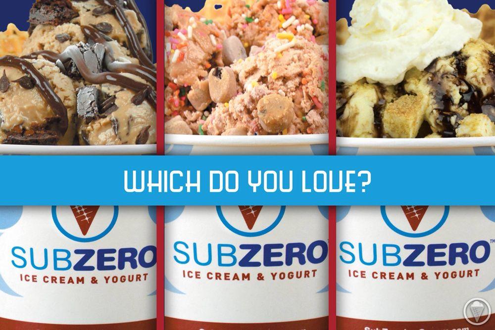 Photo Of Sub Zero Nitrogen Ice Cream