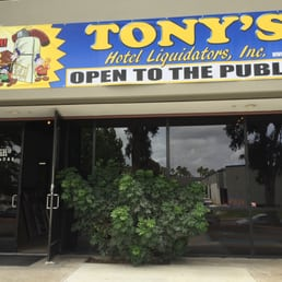 Tony S Hotel Liquidators Furniture Stores 1444 30th St