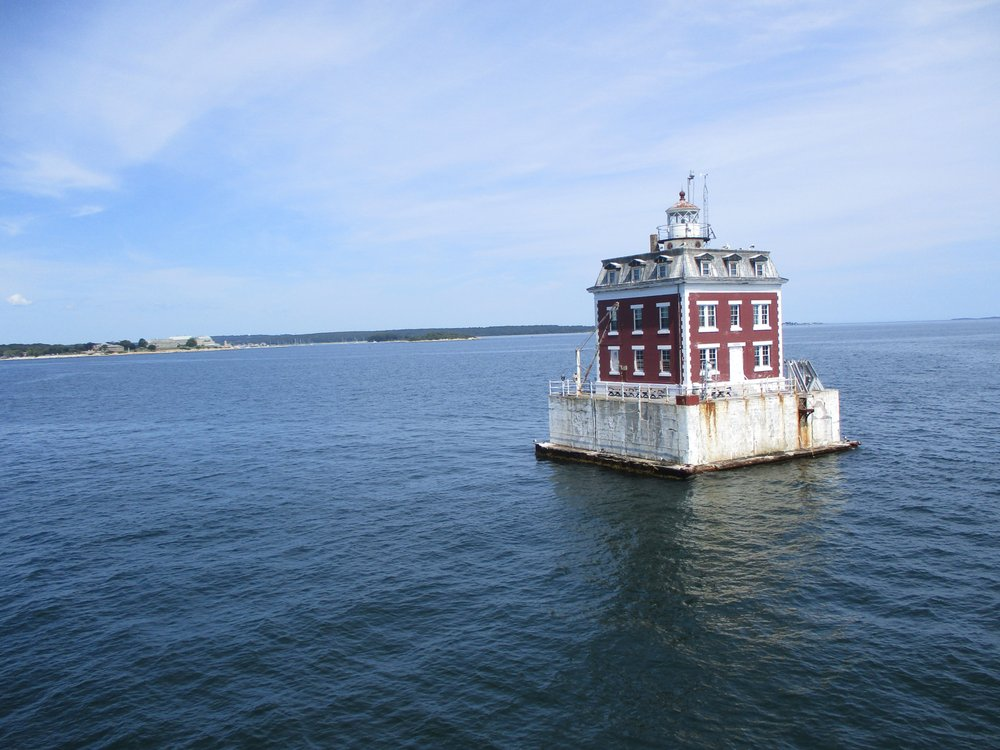 New London Ledge Lighthouse: New London, CT