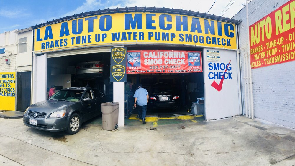 California Test Only Smog Check: 4169 Venice Blvd, Los Angeles, CA