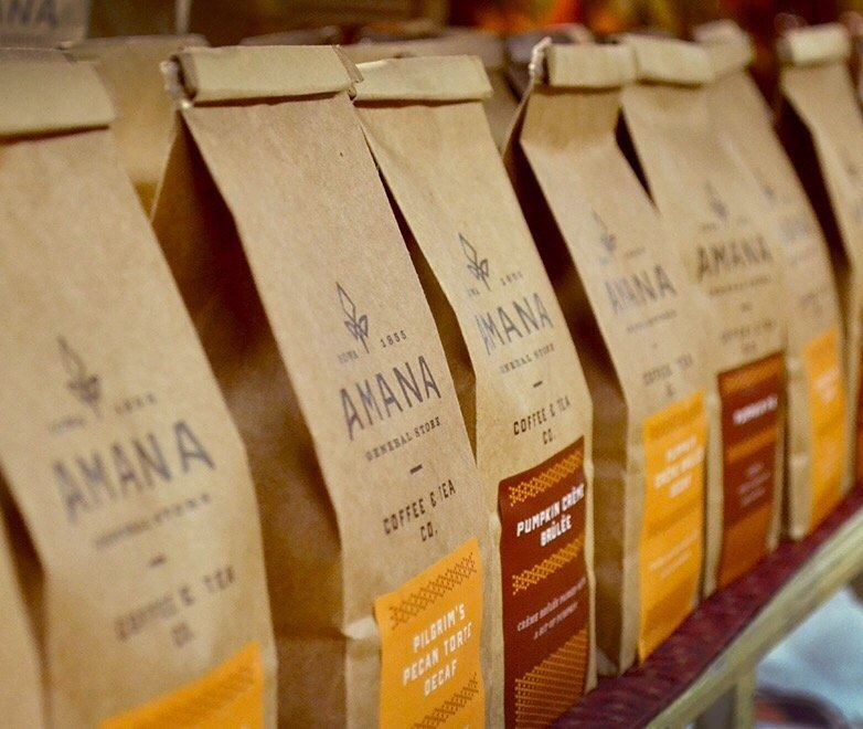 Amana Coffee & Tea: 4423 220th Trl, Amana, IA