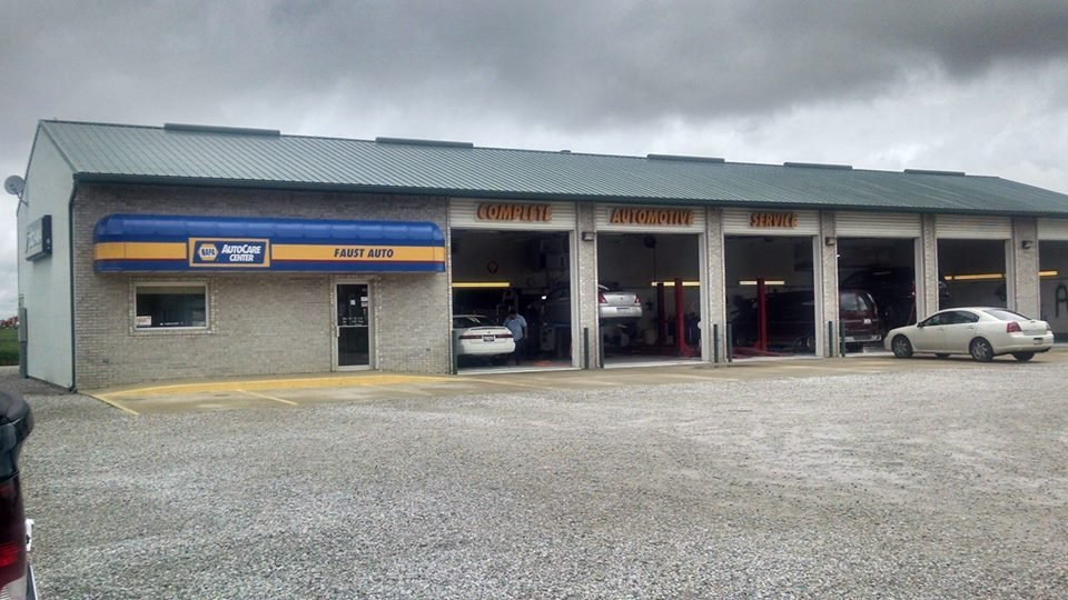 Faust Automotive & Tires: 101 W Harrison St, Aviston, IL