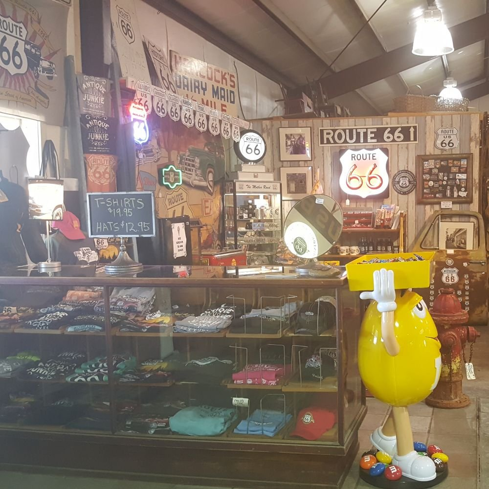 Route 66 Antique Mall: 17711 Campground Rd, Lebanon, MO