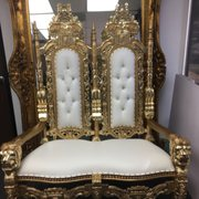 ... Photo Of King Throne Chairs   Montebello, CA, United States. Double King  And ...