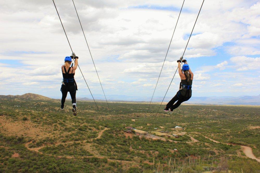 Arizona Zipline Adventures: 35406 S Mt Lemmon Rd, Oracle, AZ