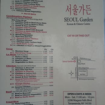 Seoul Garden 115 Photos 52 Reviews Korean 2298 Niagara Falls Blvd Tonawanda Ny