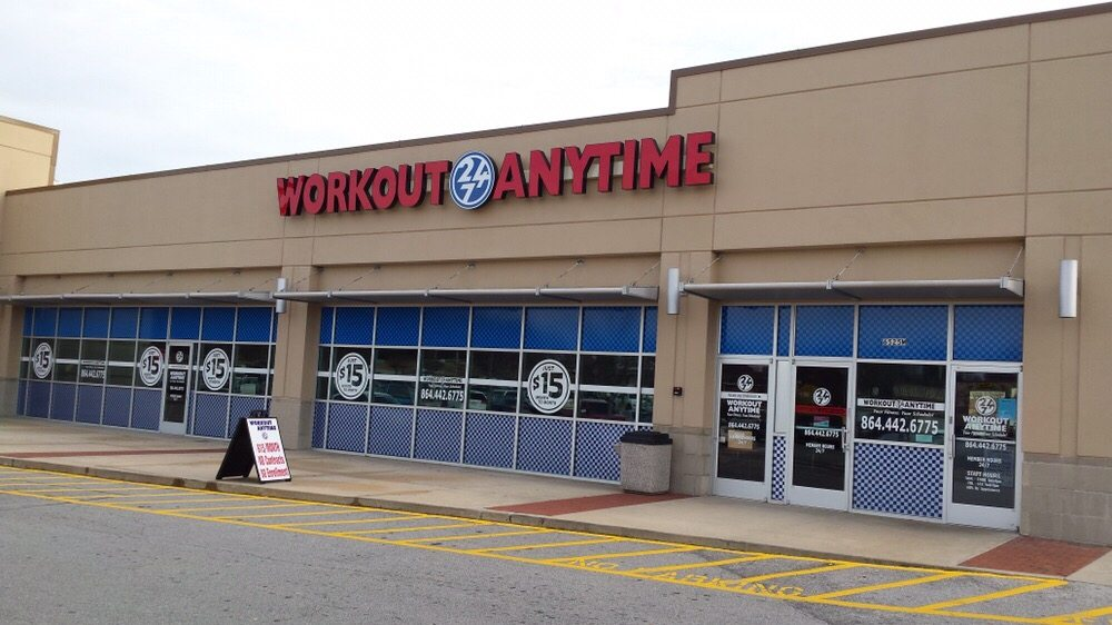 Workout Anytime Easley: 6525 Calhoun Memorial Hwy, Easley, SC