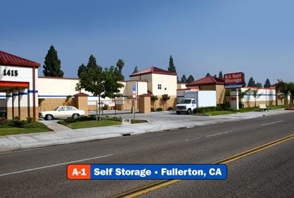 A-1 Self Storage: 1415 W Commonwealth Ave, Fullerton, CA