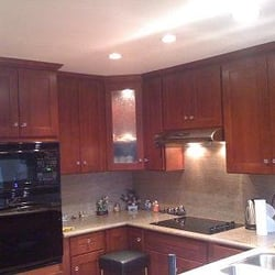 Mercadence kitchen cabinets bath closed building for Bathroom cabinets yelp
