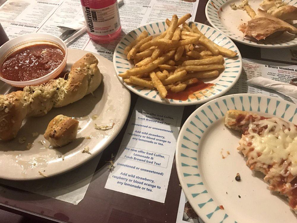 Food from Frankies Pizzeria & Restaurant