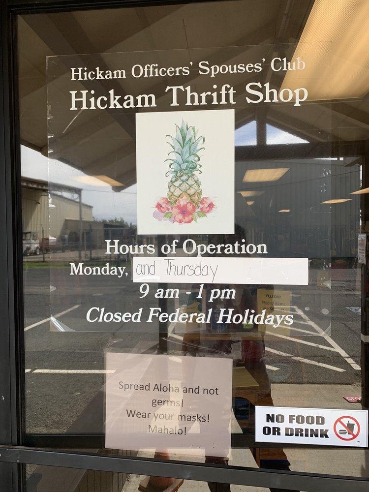 Hickam Thrift Shop