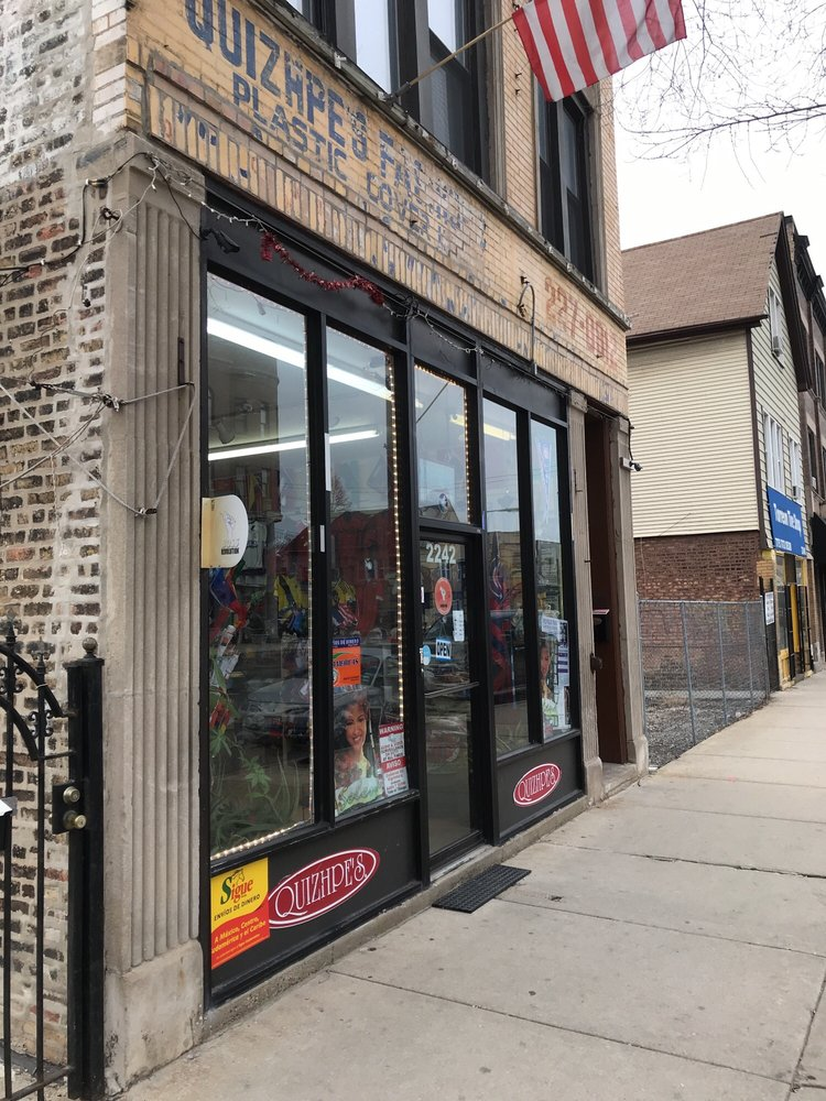 Quizhpe's Gifts and Sports: 2242 N Western Ave, Chicago, IL