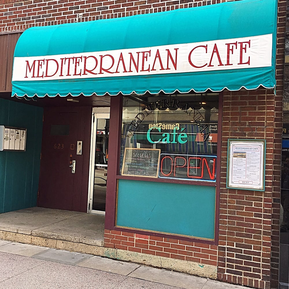 Food from Mediterranean Cafe