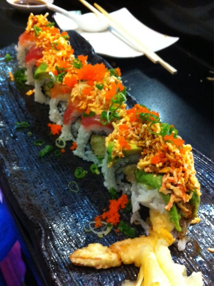 Titanic roll yelp for Angry fish sushi